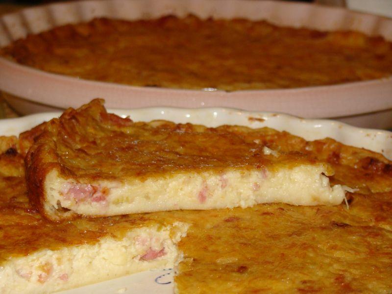 recettes en folie 187 quiche sans p 226 te oignons lardons