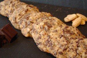 Cookies - pépites de chocolat, amandes. dsc07212-300x200